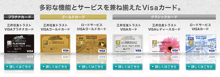 三井住友トラストカードを徹底比較
